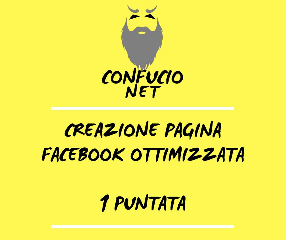 Creazione Pagina Facebook 1 Tutoria