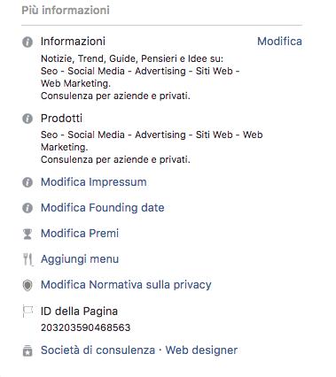 Creazione e gestione pagina Facebook 2 parte 6