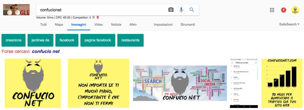Ricerca google confucionet