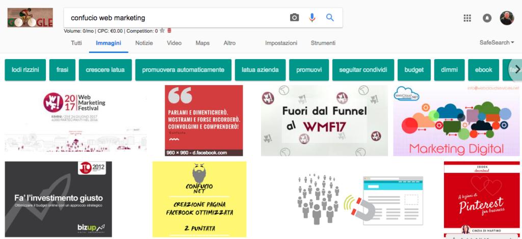 Ricerca google seo confucio