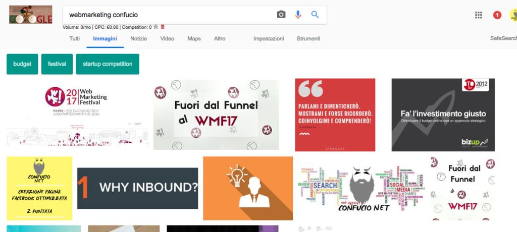 Ricerca google webmarketing confuci