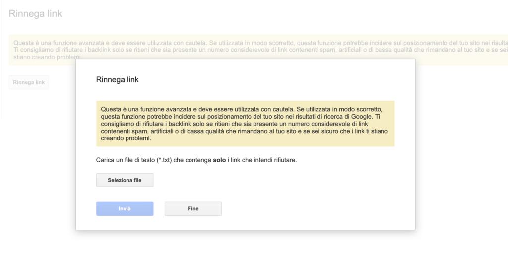 Come Rifiutare Backlink dannosi per il tuo sito web 1
