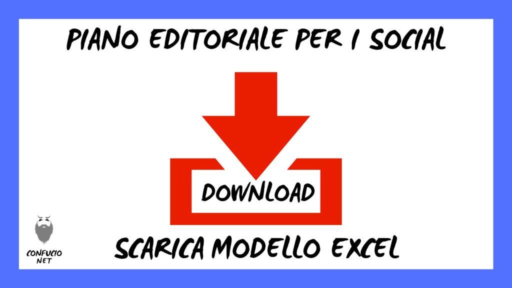 Come creare un calendario editoriale per i social media? Modello Excel 5