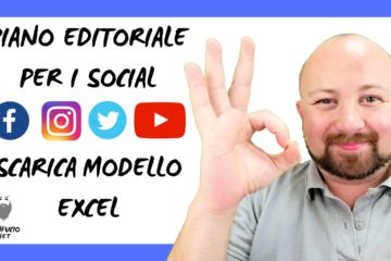 Come creare un calendario editoriale per i social media? Modello Excel 4