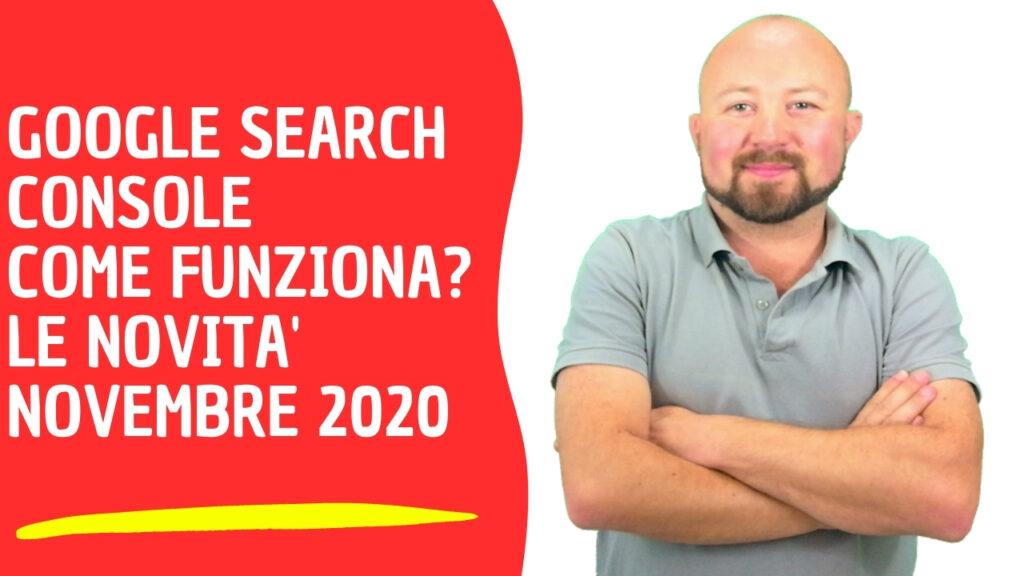 Guida Google Search Console 2020