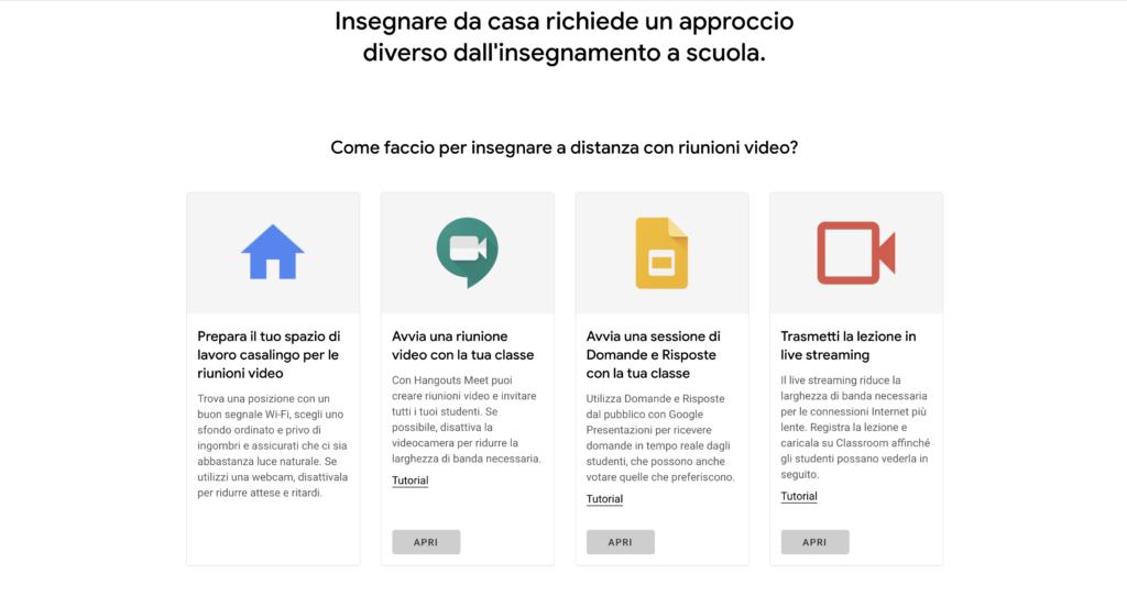 Google lancia Insegna da Casa 1