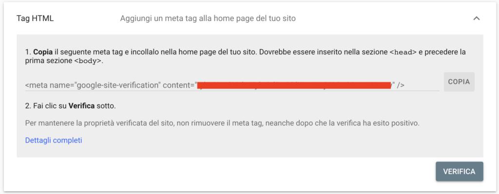 Verifica Tag HTML