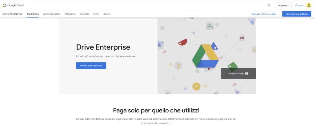 Google Drive per Aziende