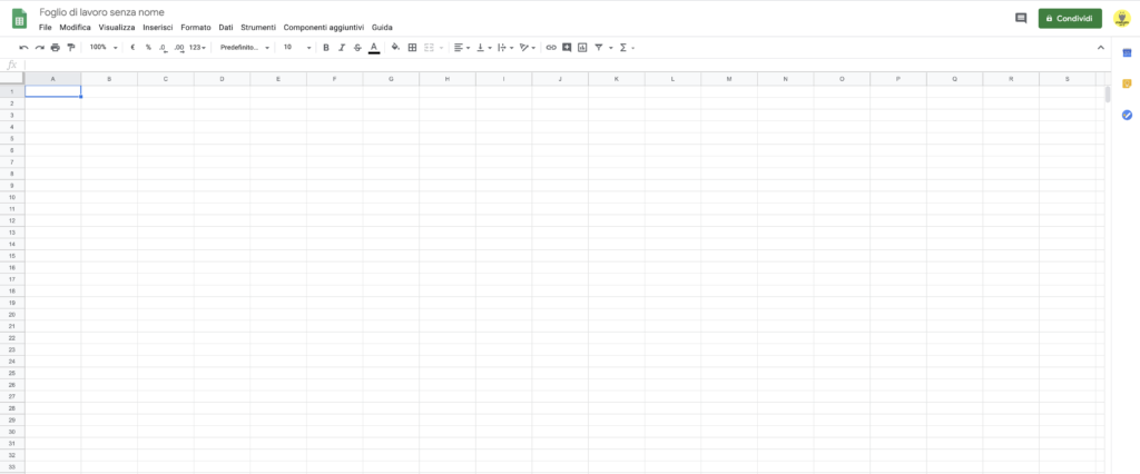 Google Sheets - Google Excell