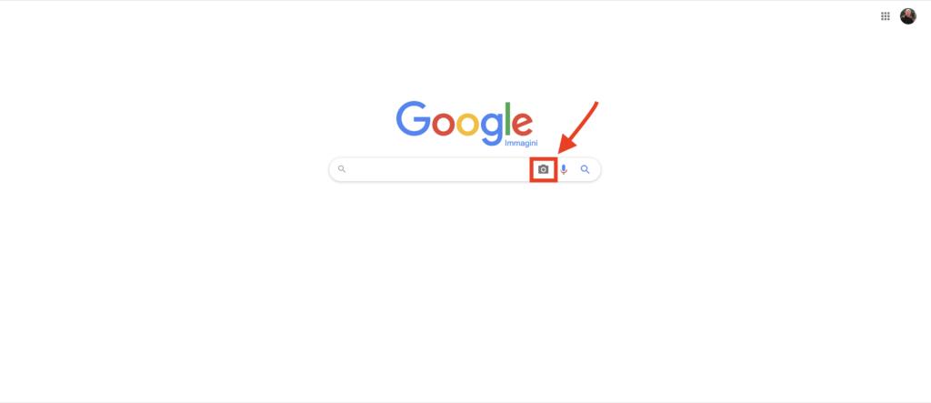 Ricerca inversa Google immagini
