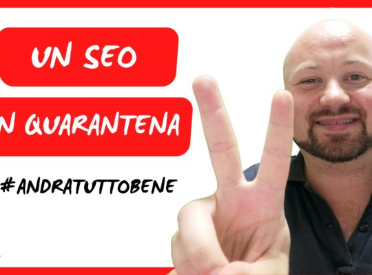 Un SEO In Quarantena