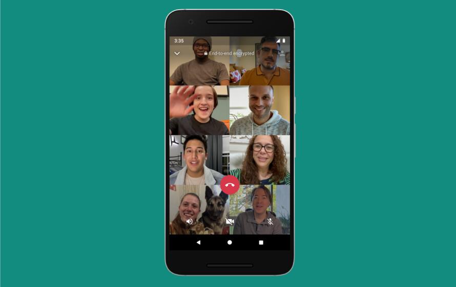 Watsapp Group Calls
