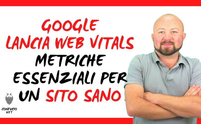 Google lanciata Web Vitals