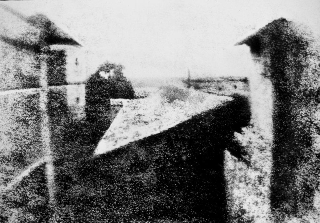 Prima Fotografia della storia Joseph Nicéphore Niépce