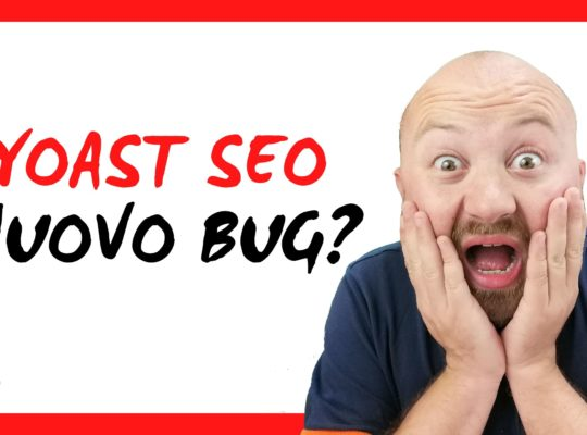 Yoast SEO 14.0. nuovo bug? De indicizzazione url di massa 3