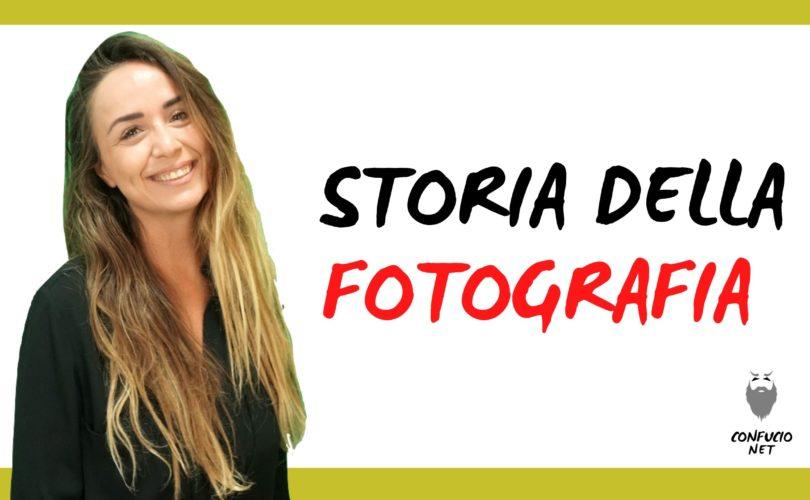 La storia della fotografia 1