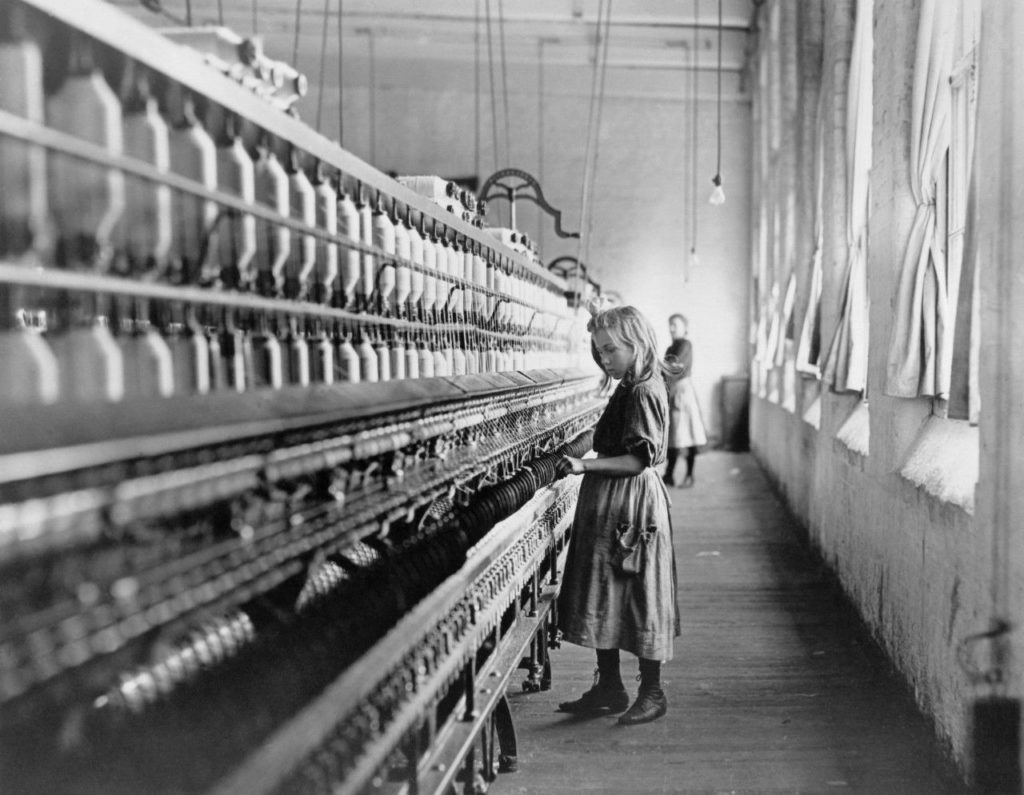 Cotton Mill Girl 1908 - Lewis Hine
