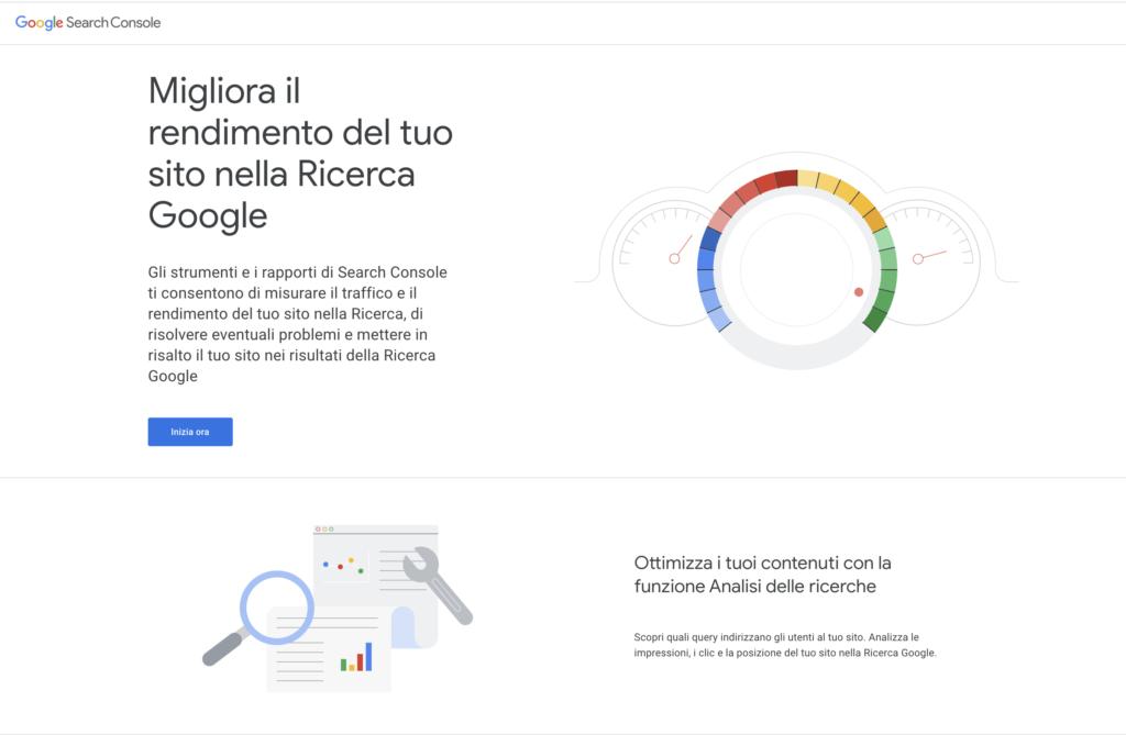 Home Google Search Console