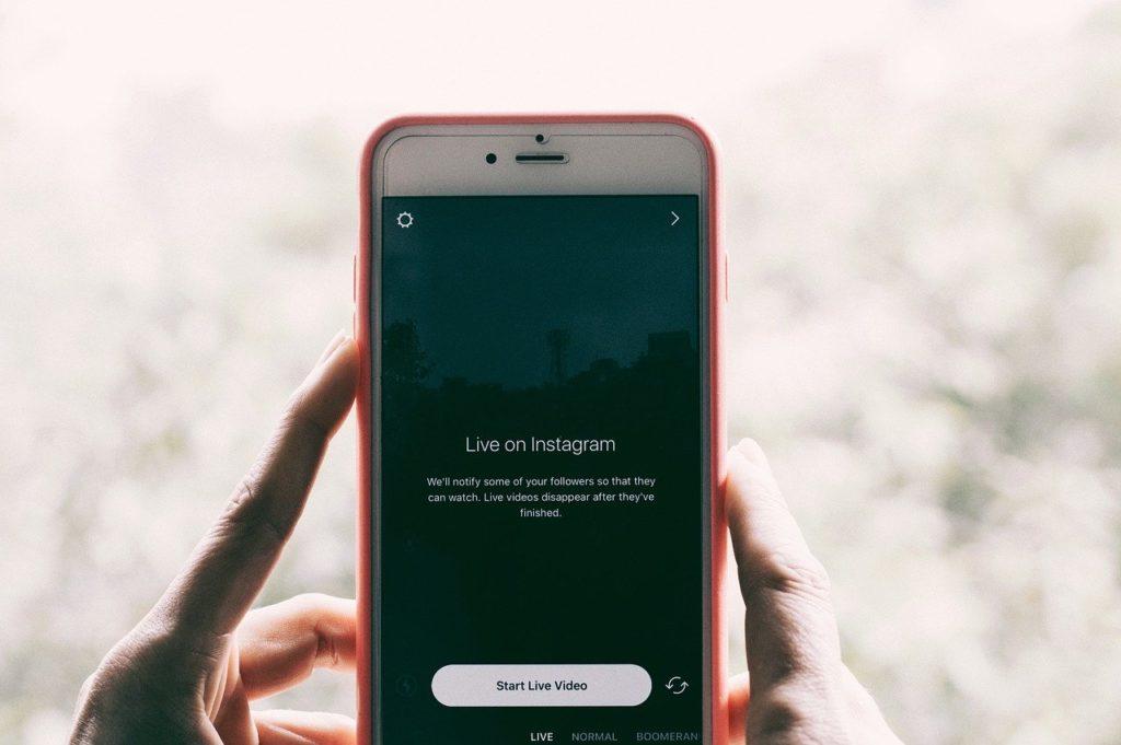 Instragam Stories Live - Diretta