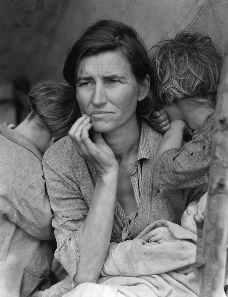 Madre migrante 1936 - Dorothea Lange