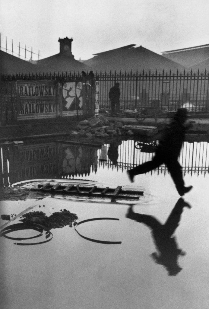 Man Jumping the Puddle 1930