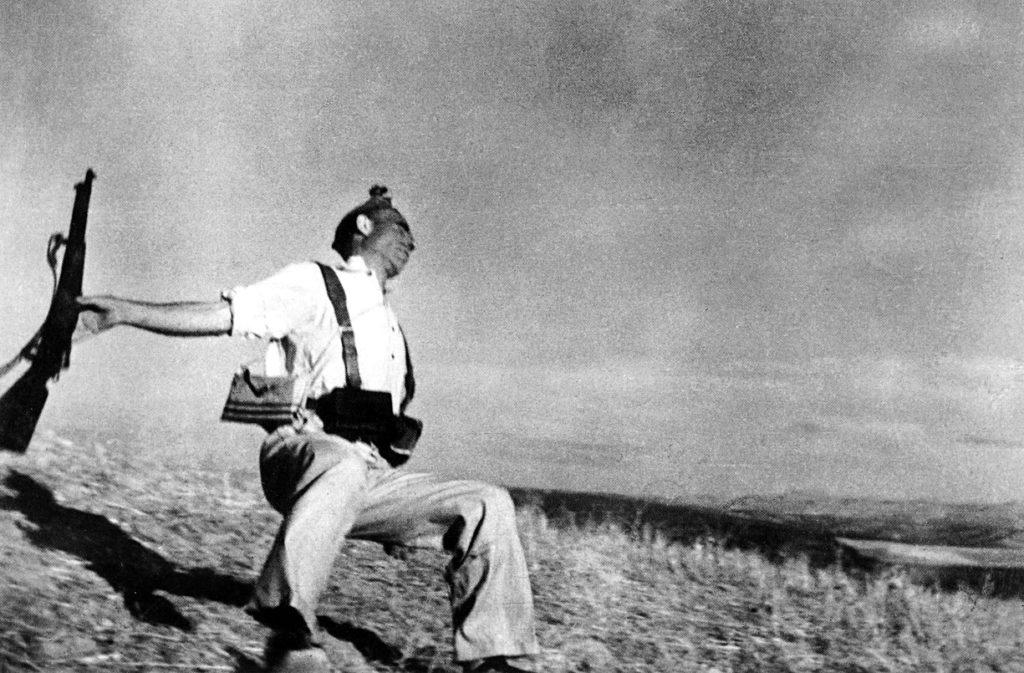 Morte di un Miliziano 1936 - Robert Capa