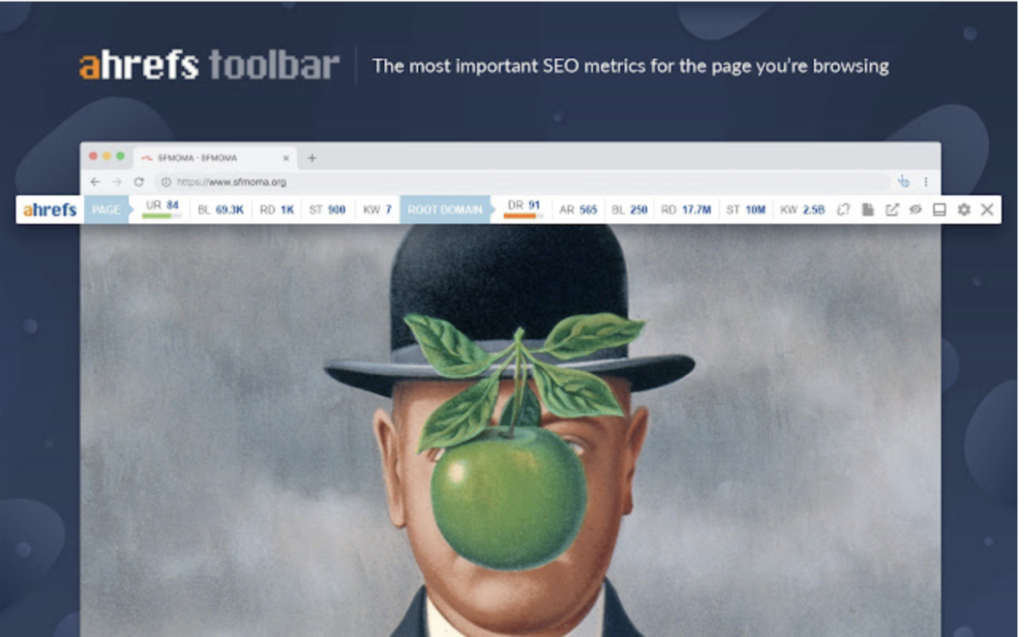 Ahrefs SEO toolbar (Estensione Chrome)