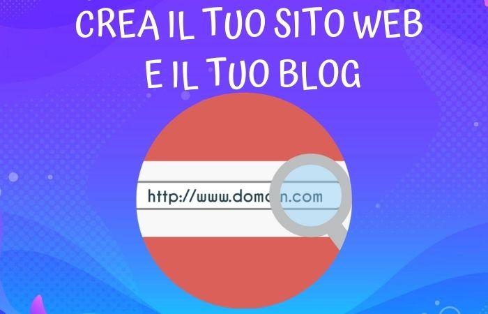Crea il tuo sito web