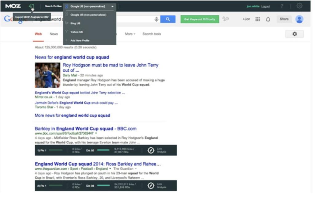 Le migliori estensioni SEO di Google Chrome 2020 5