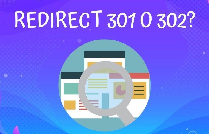 Redirect 301 o 302