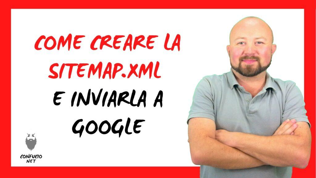 Come creare la Sitemap XML