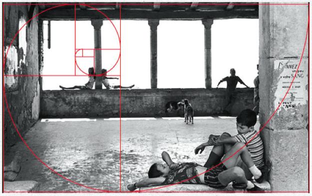 Henri Cartier-Bresson Sezione Aurea