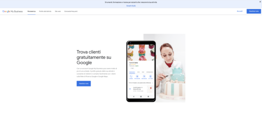 Google My Business Home